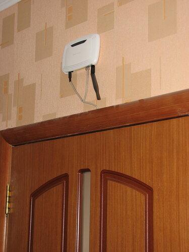 Подключение стандартного ADSL роутера по PoE