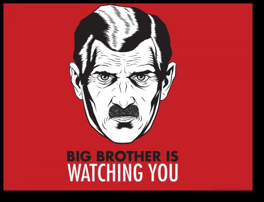 Большой брат наблюдает за тобой