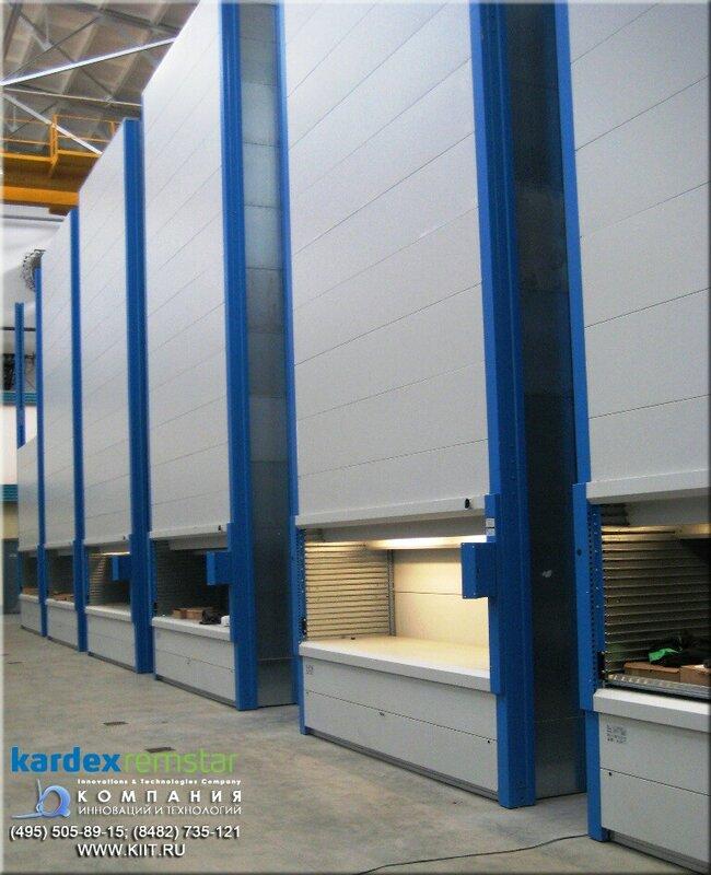 автоматизированный складской комплекс KARDEX на Иркутском Авиационном Заводе.