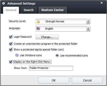 Портативная программа Folder Protector