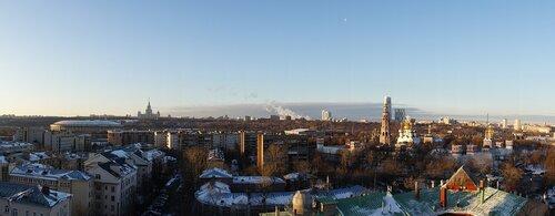 Панорама Хамовников