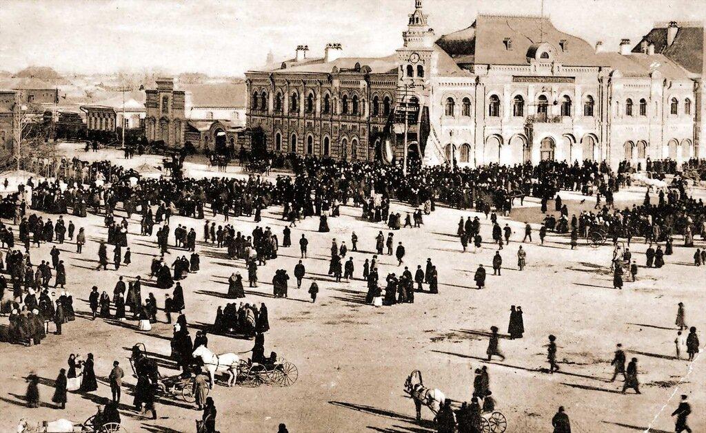 Чуринская торговая площадь