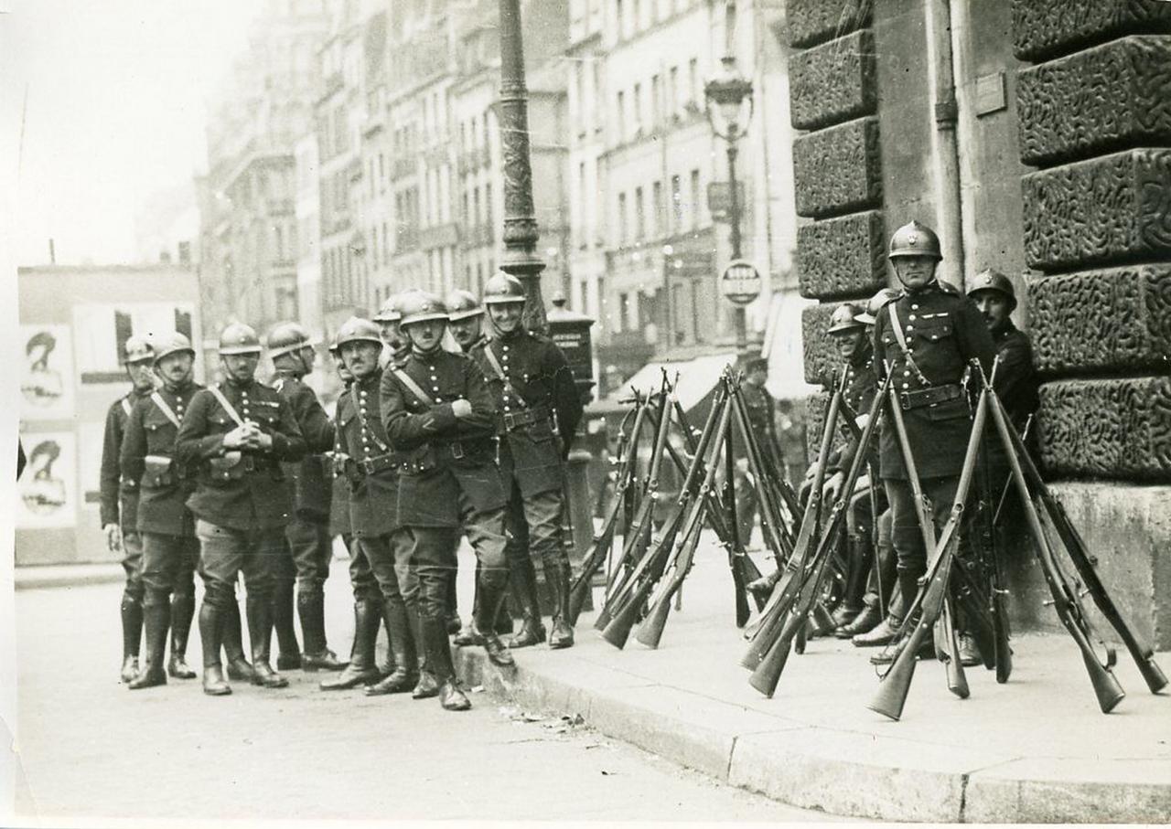 1930. Возле ворот Сен-Мартен