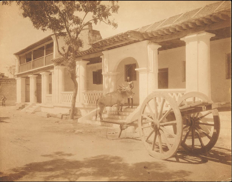Тутикорин. Старый португальский дом