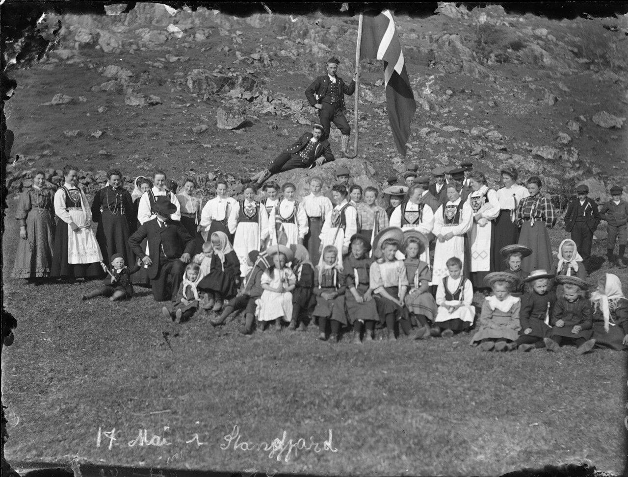 Торжества по случаю 17 мая. 1910 г.