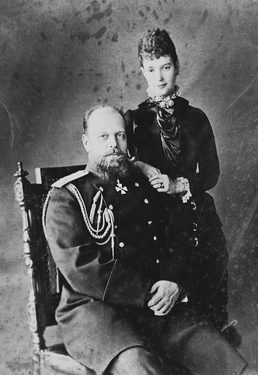 Александр III и Мария Федоровна 1883 г.