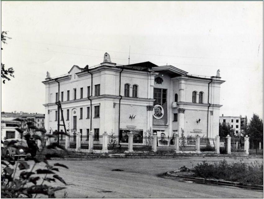 Дворец шахтостроевцев