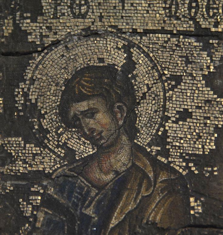 мозаичная икона: