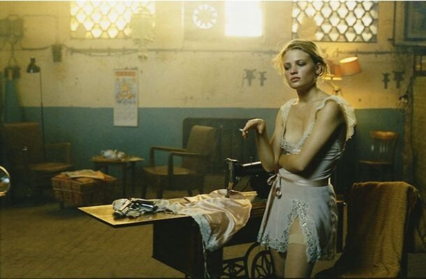 Melanie Thierry, Мелани Тьерри,--Как в кино-- Vogue Italia, March 2004, Peter Lindbergh