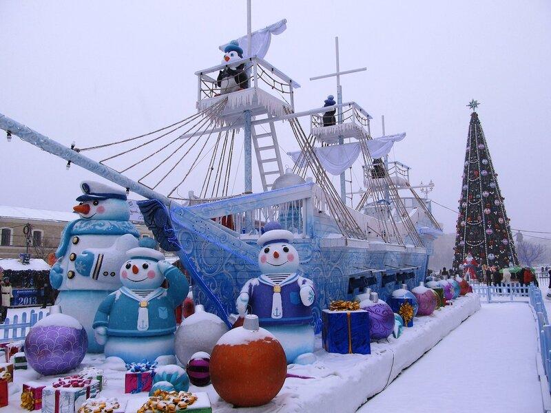 Новогодний Сказочный Корабль.