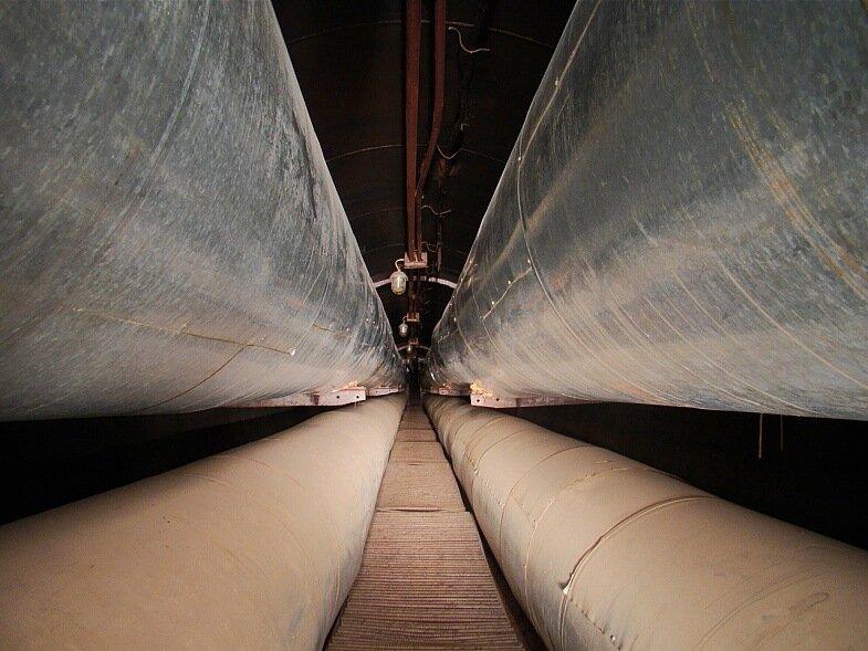туннель под Волгой в Твери