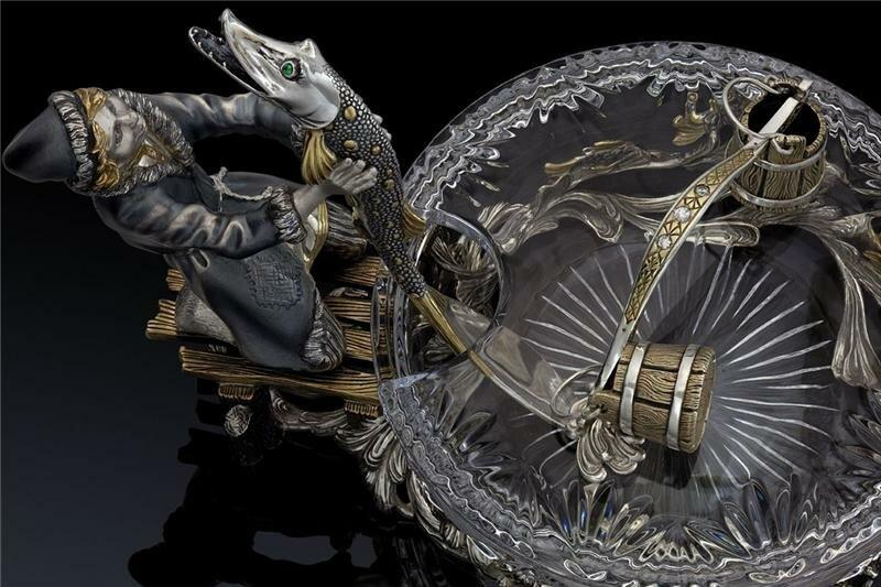 005143de7673 Волгореченский ювелирный завод «Русское серебро» по мотивам русских ...