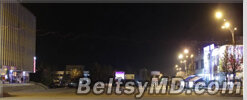 Самые красивые ночи только в Бельцах — ночной город