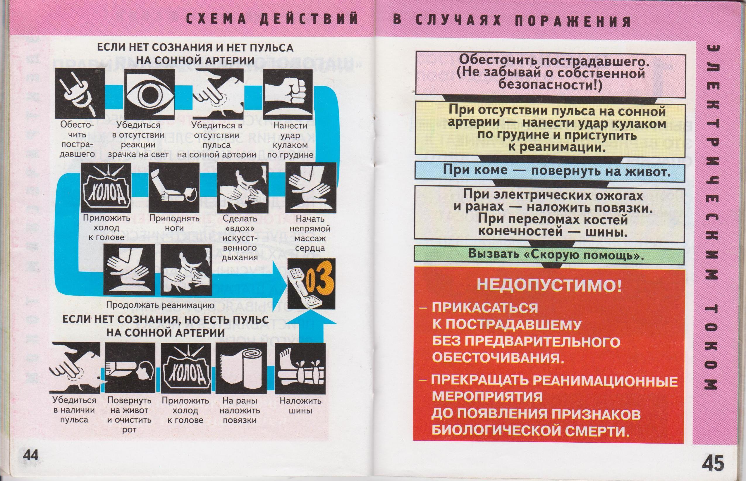 Оказание доврачебной помощи инструкция с картинками