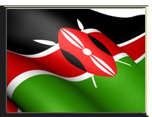 Кения. Флаг Кении. Фото yuiyui - Depositphotos