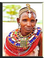 Кения. Масаи Мара. Масайская деревня. Фото AnnaOmelchenko - Depositphotos