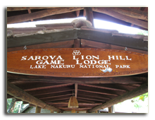 Кения. Озеро Накуру. Sarova Lion Hill Game Lodge