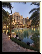 ОАЭ. Дубаи. Madinat Jumeirah. Mina A Salam