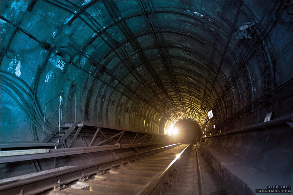 Недостроенная станция киевского метро