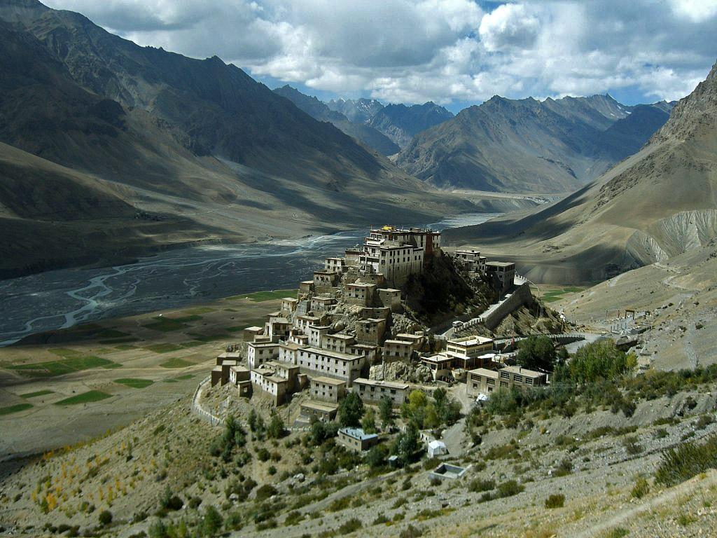 Тибетский монастырь-крепость Ки Гомпа