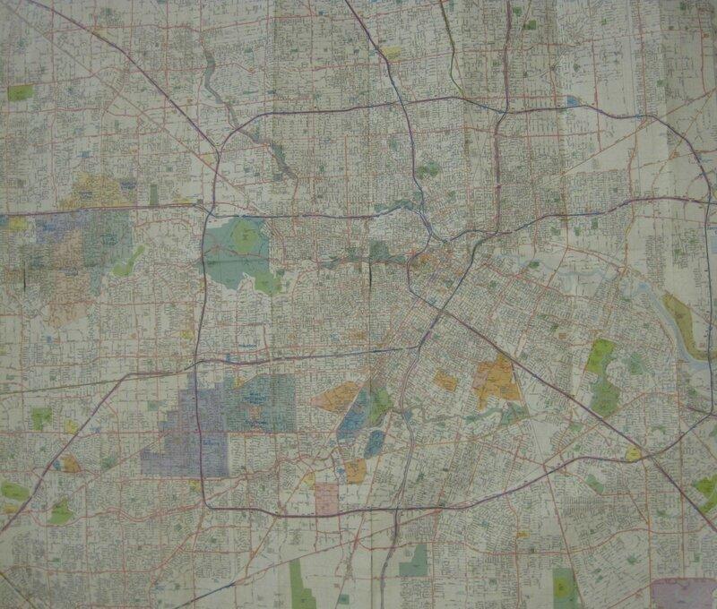карта хьюстона