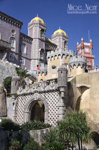 pena palace, sintra, дворец Пена