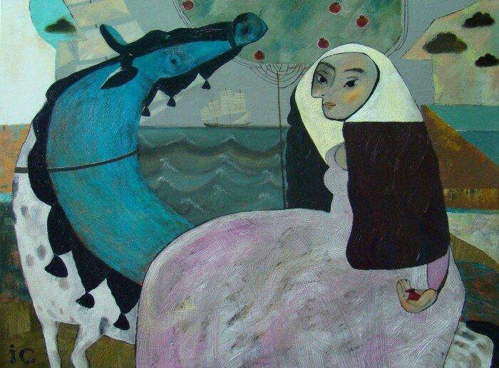 Столярова Ирина. Жанровая живопись 19
