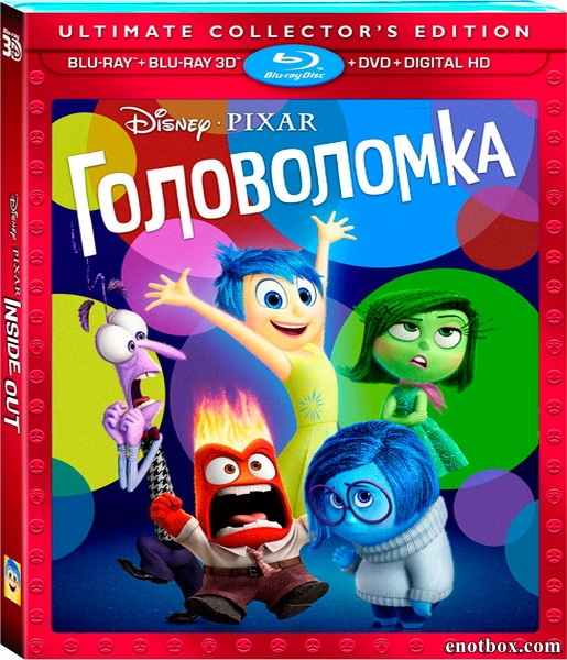 Головоломка / Inside Out (2015/BD-Remux/BDRip/HDRip)