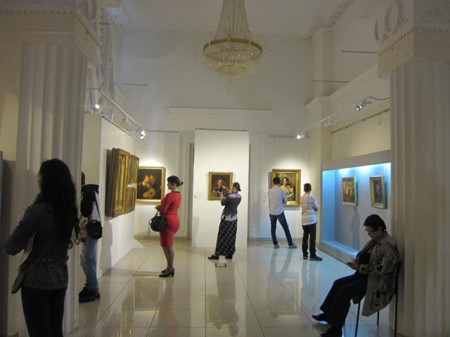 Челябинский музей искусств, зал им. Александрова