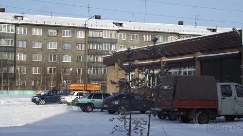 Фото города Инта №3652  Северная 1 и Мира 30а 19.02.2013_12:13