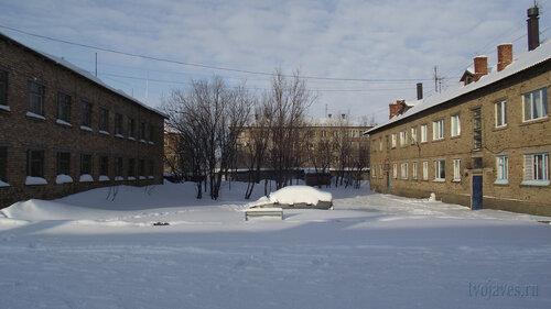 Фото города Инта №3804  Чернова 6а, Январская 13, Чернова 8 и 6 19.02.2013_13:06