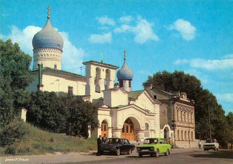 Церковь Варлаама Хутынского.  Памятник архитектуры XV-XVI вв.