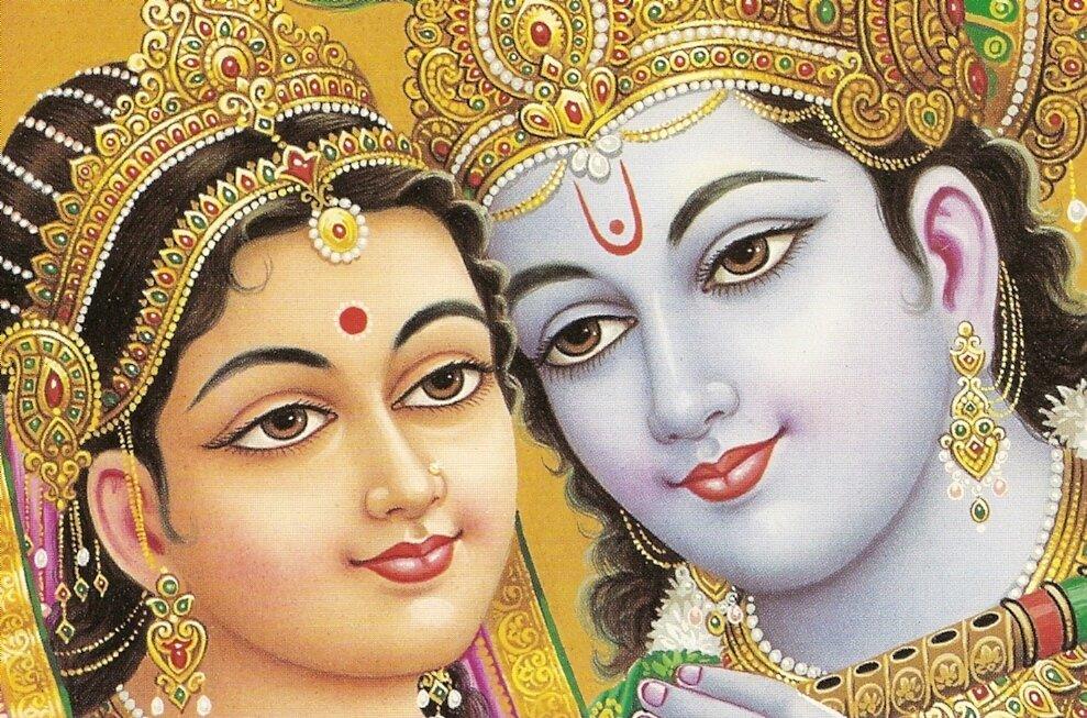 Джайа Шри Шри Радха-Кришна!