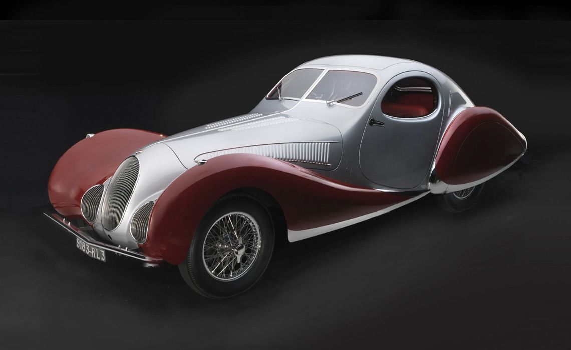 Delahaye 135MS Roadster (1937) . Предоставлено The Revs Institute for Automotive Research.
