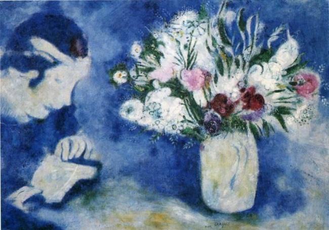 Белла вМурийоне, 1926г. Поматериалам: kulturologia , m-chagall Сморите также: Цветы отМаяковског
