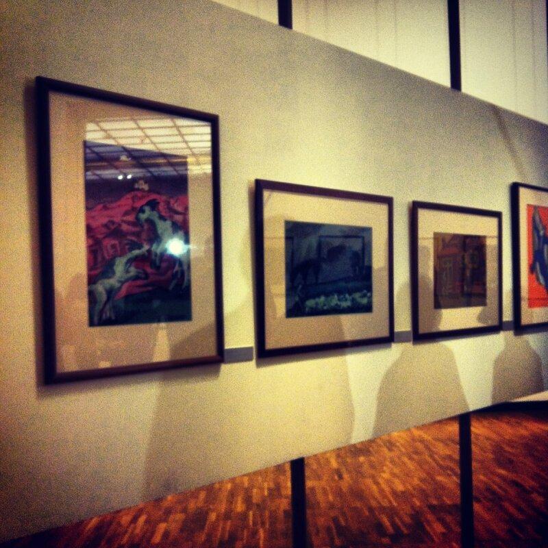 Открытие выставки графики А. Каплана в ГТГ