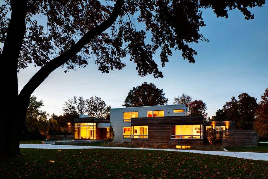 Неординарный частный дом в Шейкер Хайтс