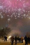Салют в Солнцево на Новый Год
