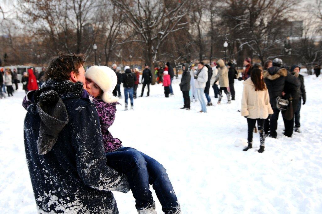 Большая снежная битва