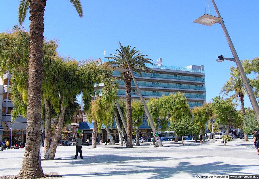 Площадь Свободы (Элефтерия) в Ираклионе | Eleftherias Square in Heraklion