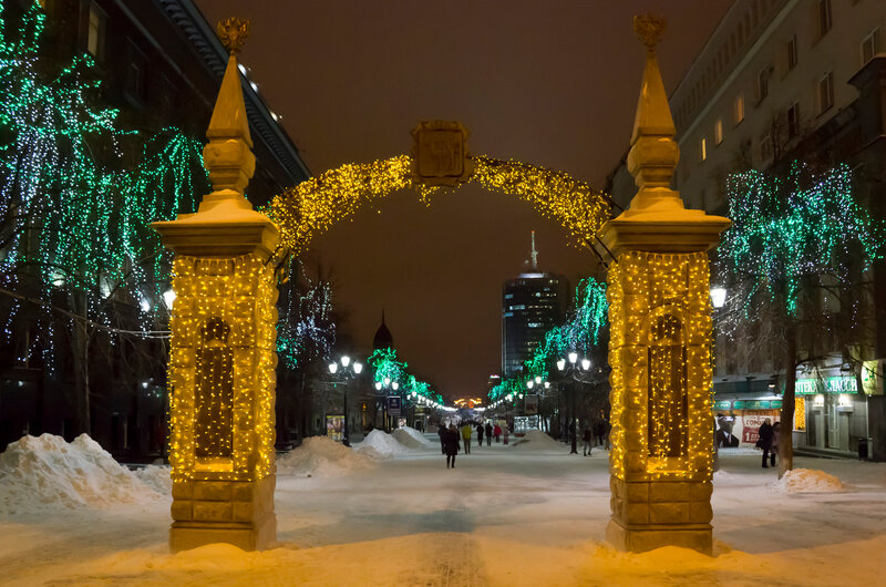 Ворота на Кировку