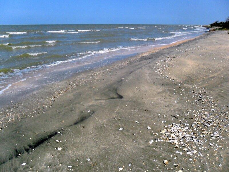 Полдень, август, Азовское побережье