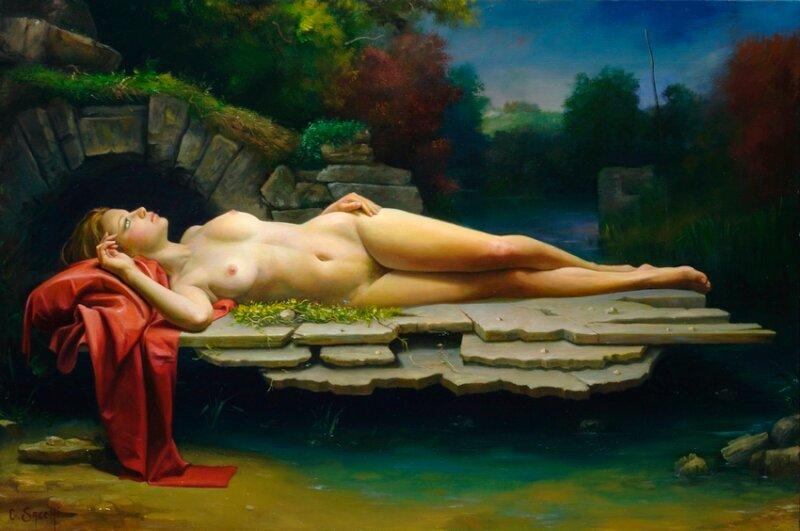 Итальянский художник Клаудио Сакки