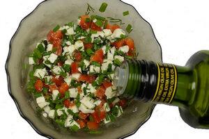 добавить в начинку оливковое масло
