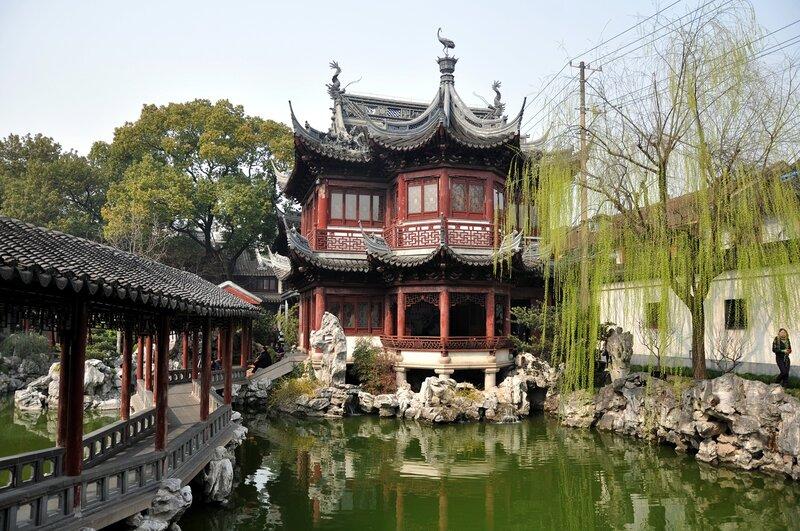 Китай. Шанхай. Сад радости