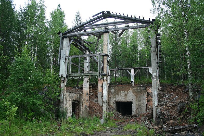 бункер в бывшем ядерном арсенале Каргополь-2 в Няндоме