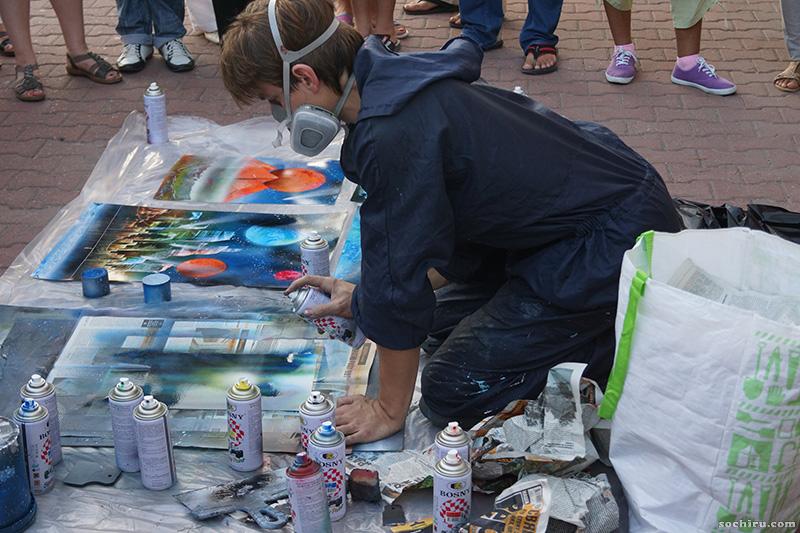 граффити - уличные художники