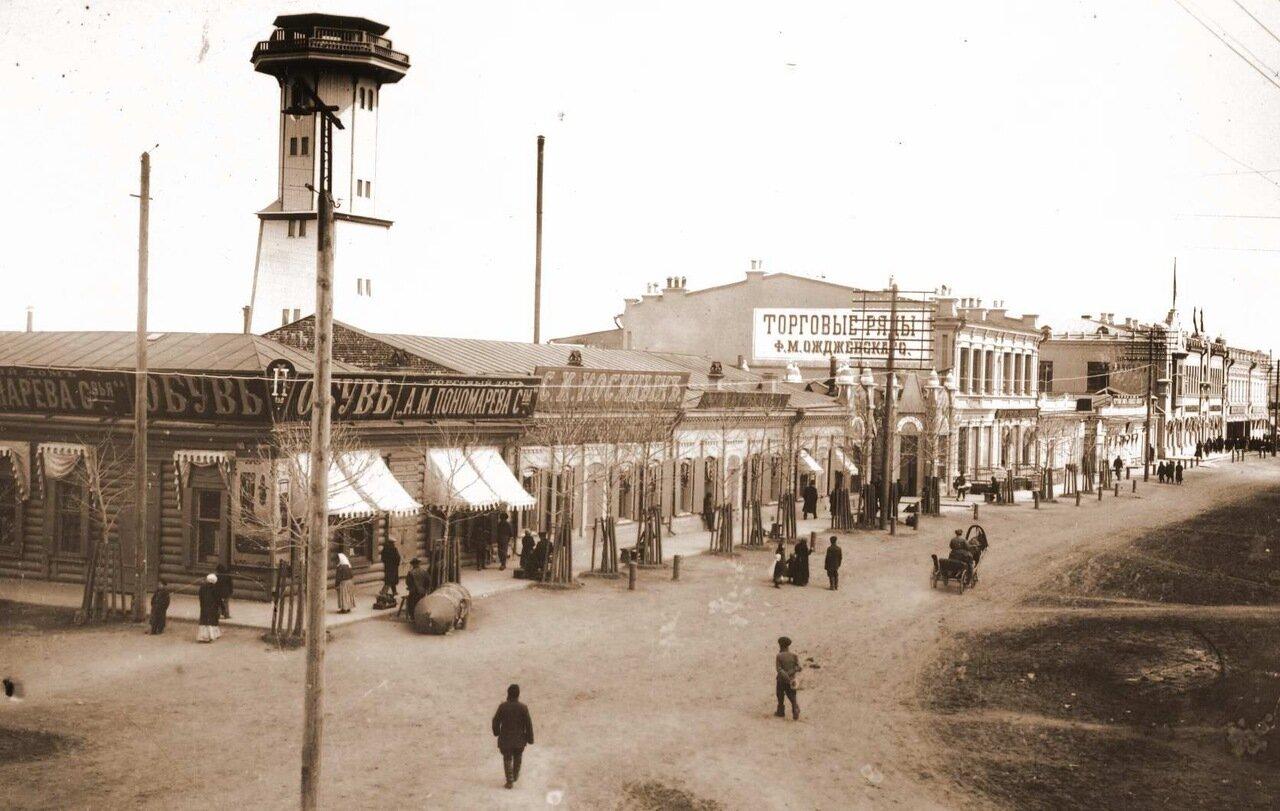 Угол улиц Амурской и Благовещенской