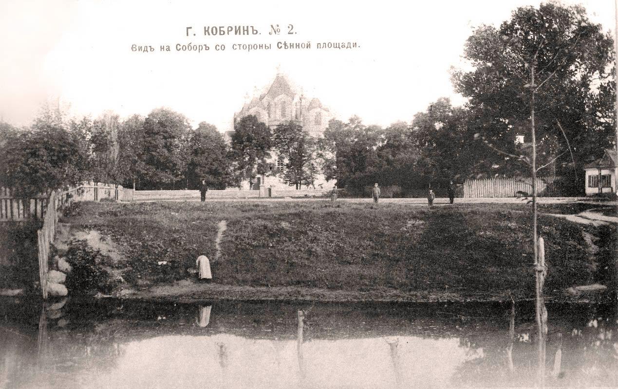 Вид на Собор со стороны Сенной площади