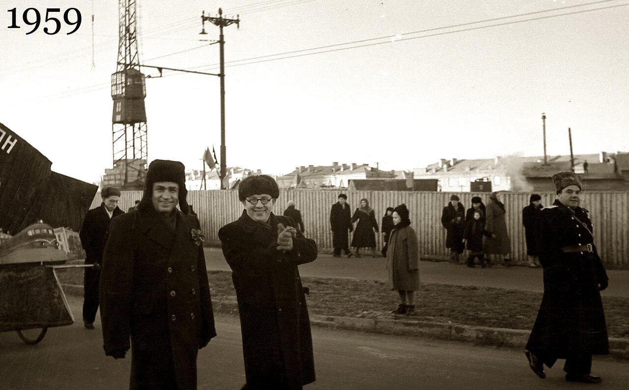 1959.  Ноябрьская демонстрация.